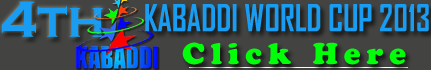 Watch LIVE World Kabaddi Cup 2013