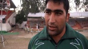 Lala Abaid Ullah – Team Pakistan Raider at World Kabaddi Cup 2012