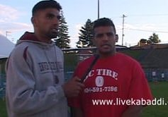 Bittu Dugal – Indian National Team stopper playing for Young Kabaddi Club in BC