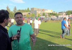 Lalli Dhesi – Young Kabaddi Club President at Richmond Kabaddi Tournament