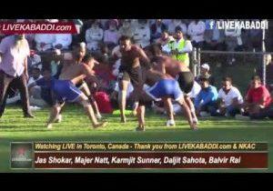 Semi 2 – Shere Punjab/Punjab Sports Cup – 2016 Canada Kabaddi